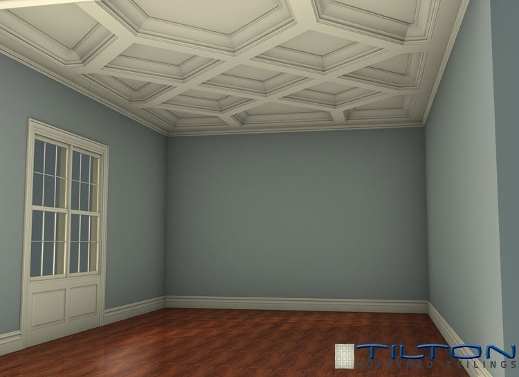 Do It Yourself Home Design: Tilton Coffered Ceiling Kits