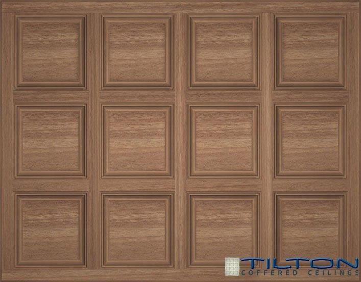 shallow coffered ceiling simple revisit traditional by