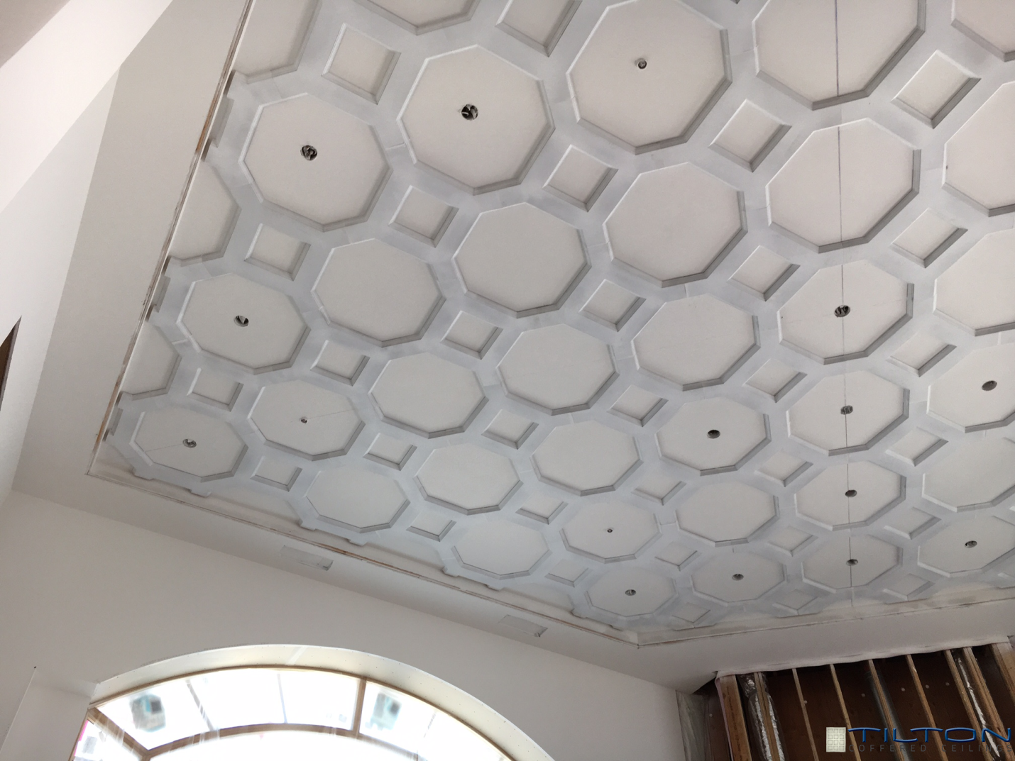 and kit coffered ceilings robinson john attractive system ceiling decor kits decorative