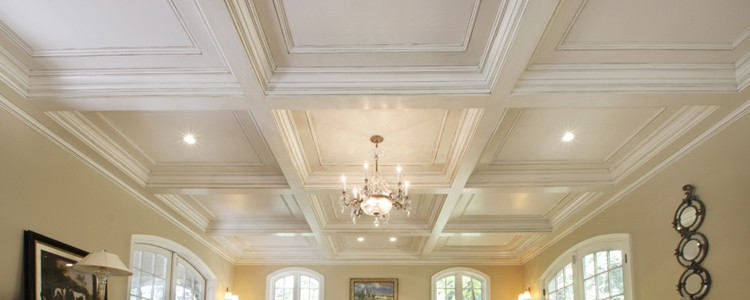 Box Beam Coffered Ceiling Systems Real Amp Faux Wood