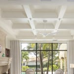 painted coffered ceilings