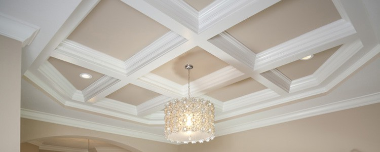 Ceiling system manufacturer decorative coffered ceiling for Box beam ceiling