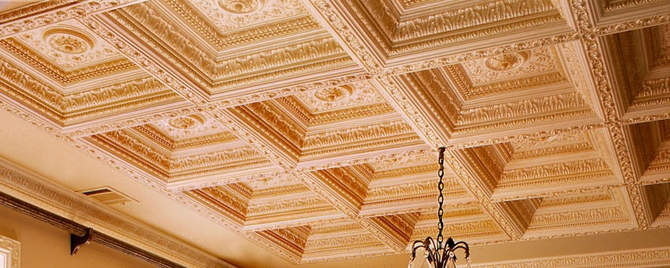 ceiling molding types