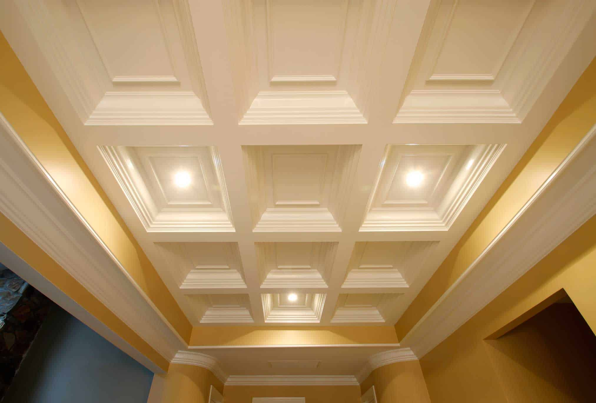 Coffered ceilings fanatic quotes for Coffered ceiling styles
