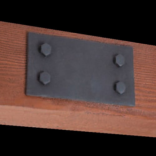 Faux Wood Ceiling Beam Plate