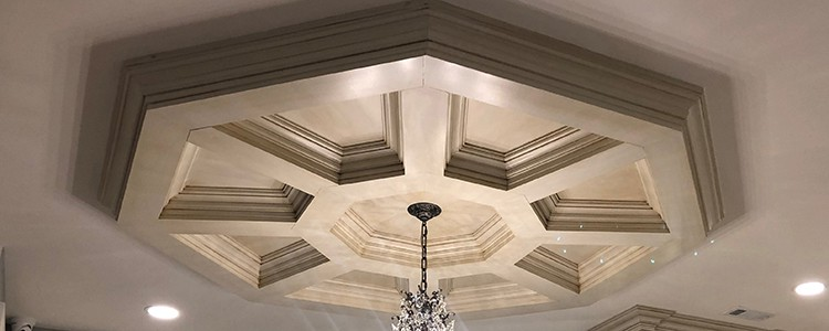 Octagon Coffered Ceiling Systems Pre Fab Faux Wood
