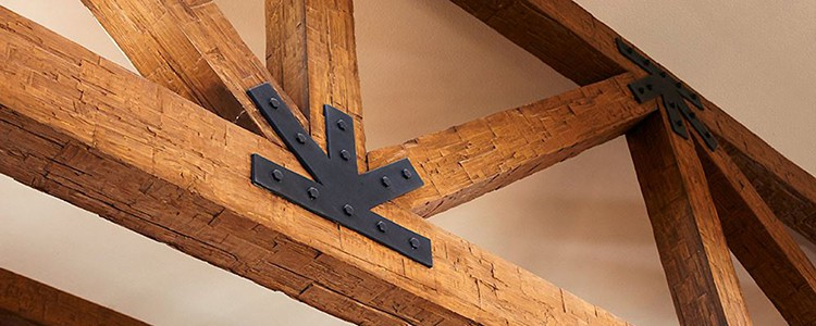 decorative beam hardware