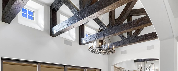 Faux Wood Ceiling Beam Trusses