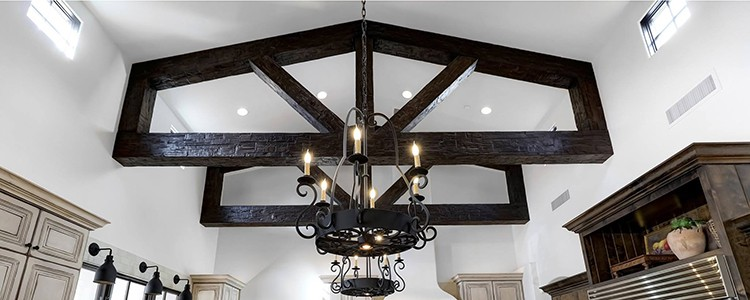 faux beams | decorative trusses | coffered ceiling kit | ceiling system | ceiling tile