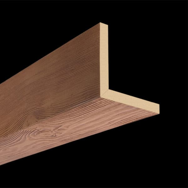 Faux Wood Ceiling Beam 2SBA - Douglas Fir - Oak (2b)