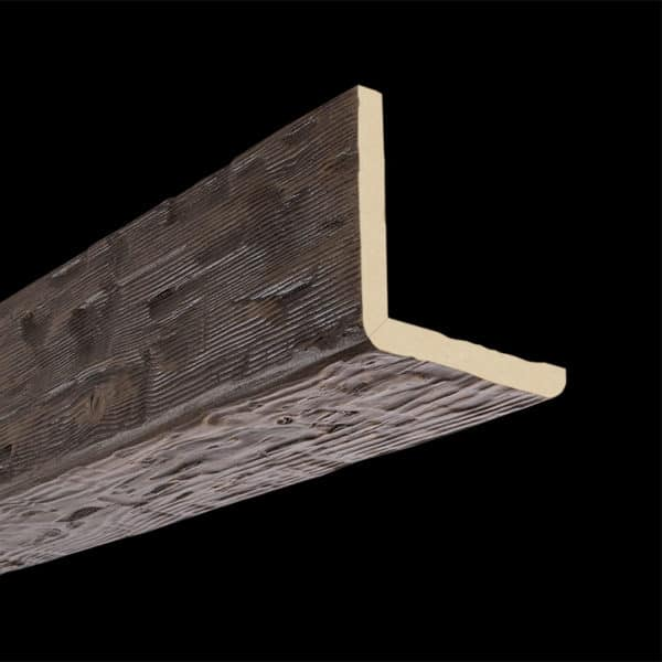 Faux Wood Ceiling Beam 2SBA - Tuscany - Dark Walnut (2b)