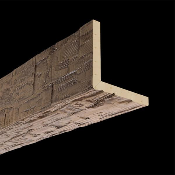 Faux Wood Ceiling Beams - Artisan Series - Hand Hewn - Light Walnut