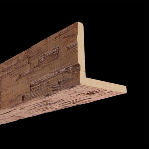 Faux Wood Ceiling Beam 2SBA - Hand Hewn - Oak (2b)