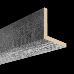 Faux Wood Ceiling Beams - Artisan Series - Rough Sawn - Gray