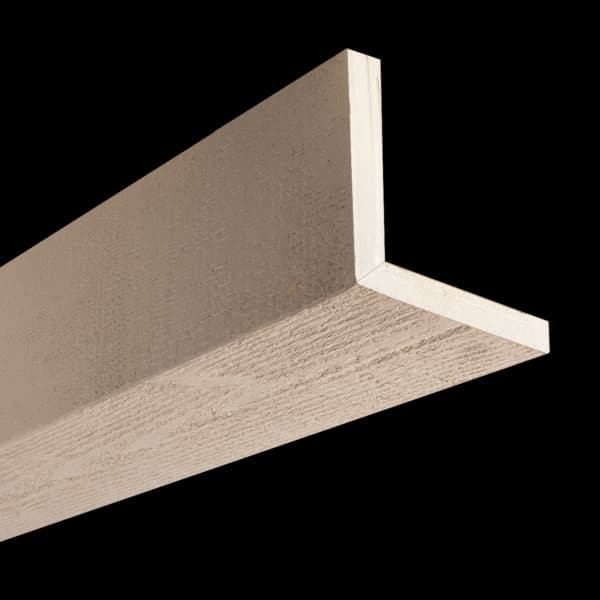 Faux Wood Ceiling Beams - Assembled Series - Rough Sawn - Primed