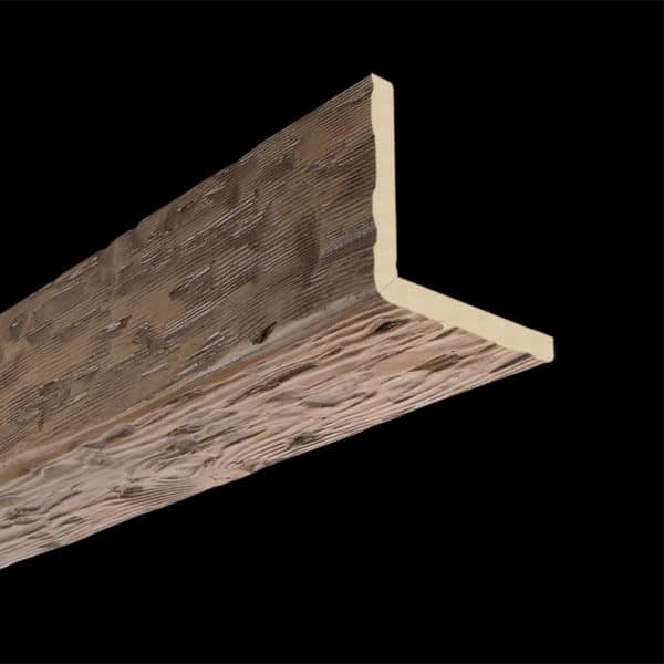 Faux Wood Ceiling Beam 2SBA - Tuscany - Light Walnut (2b)