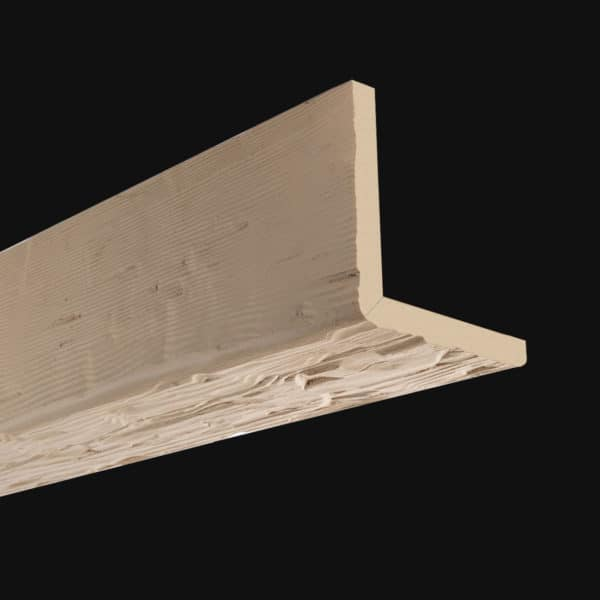Faux Wood Ceiling Beam 2SBA - Tuscany - Primed (2b)