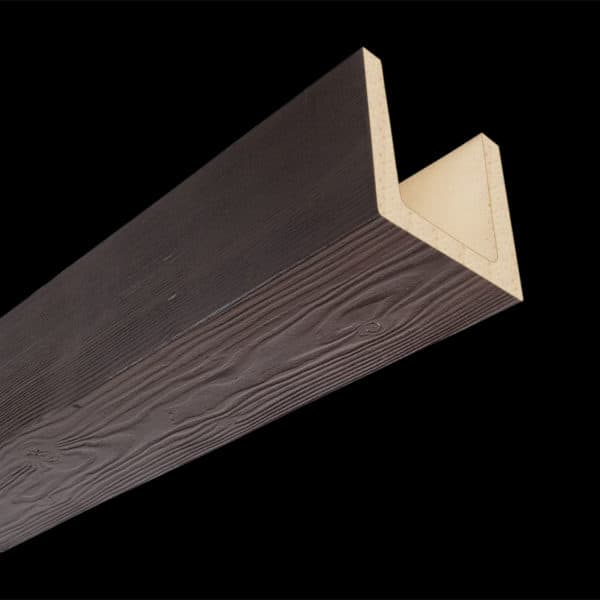 Faux Wood Ceiling Beam Molded - Douglas Fir - Espresso (2b)
