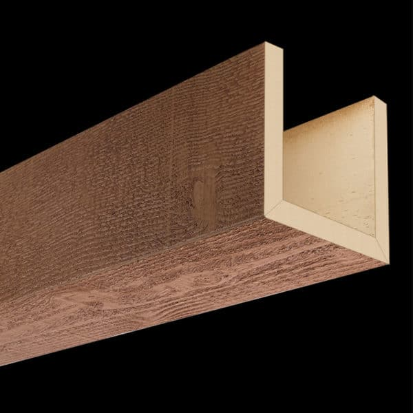 Faux Wood Ceiling Beams - Assembled Series - Rough Sawn - Oak