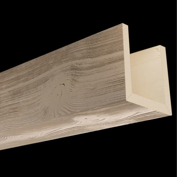 Faux Wood Ceiling Beams - Assembled Series - Sandblasted - Primed
