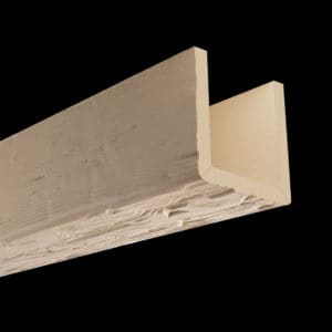 Faux Wood Ceiling Beams - Assembled Series - Tuscany - Primed