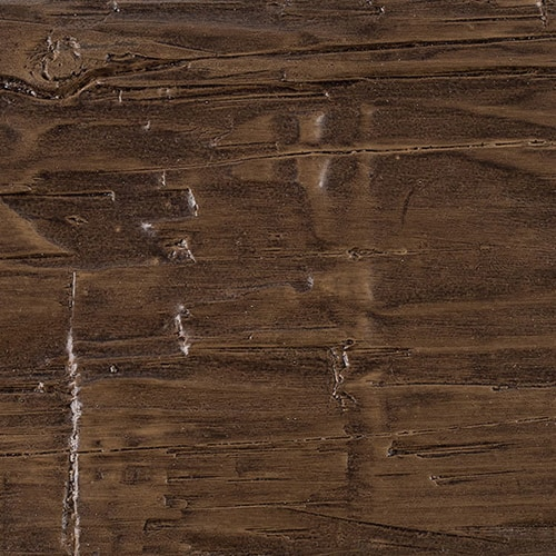 Faux Wood Ceiling Beam Swatch - Hand Hewn - Dark Walnut