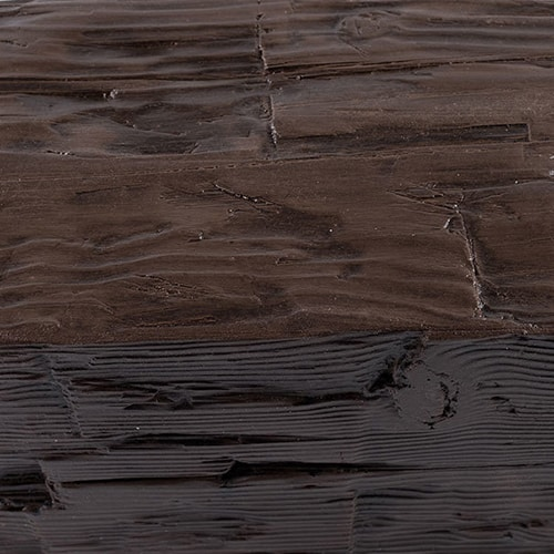 Faux Wood Ceiling Beam Swatch - Hand Hewn - Espresso