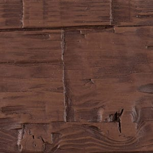 Hand Hewn - Mahogany - Faux Wood Beam, Truss & Plank Swatch