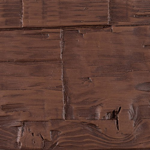 Faux Wood Ceiling Beam Swatch - Hand Hewn - Mahogany