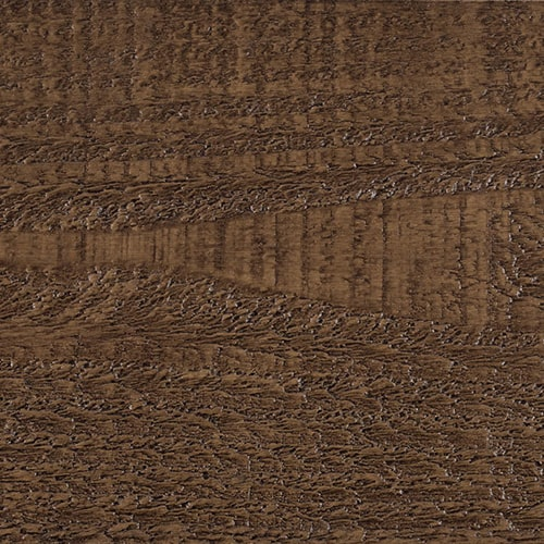 Faux Wood Ceiling Beam Swatch - Rough Sawn - Dark Walnut