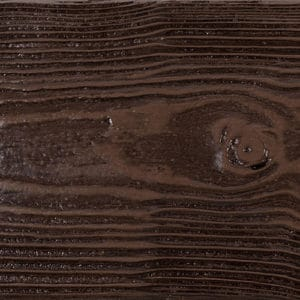 Faux Wood Ceiling Beam & Plank Swatch - Sandblasted - Espresso