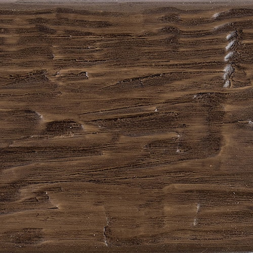 Faux Wood Ceiling Beam Swatch - Tuscany - Dark Walnut