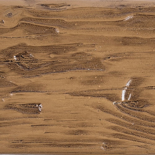 Faux Wood Ceiling Beam Swatch - Tuscany - Light Walnut
