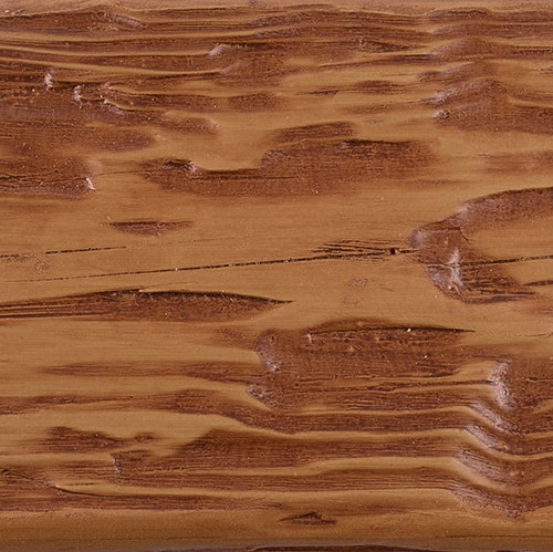 Faux Wood Ceiling Beam Swatch - Tuscany - Oak