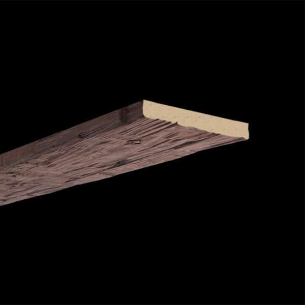 Faux Wood Ceiling Plank - Hand Hewn - Mahogany (2b)