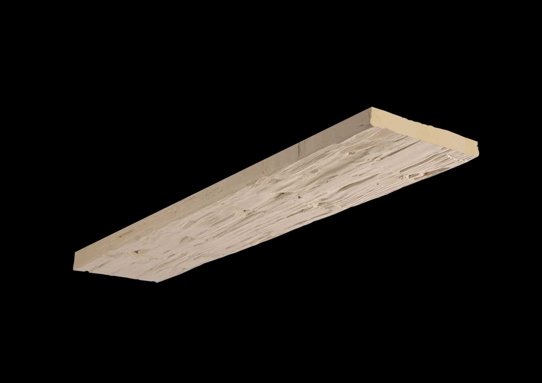 Faux Wood Ceiling Plank - Hand Hewn - Primed (1b)