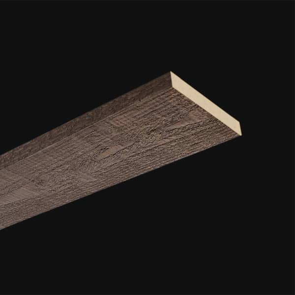 Faux Wood Ceiling Plank - Rough Sawn - Dark Walnut (2b)