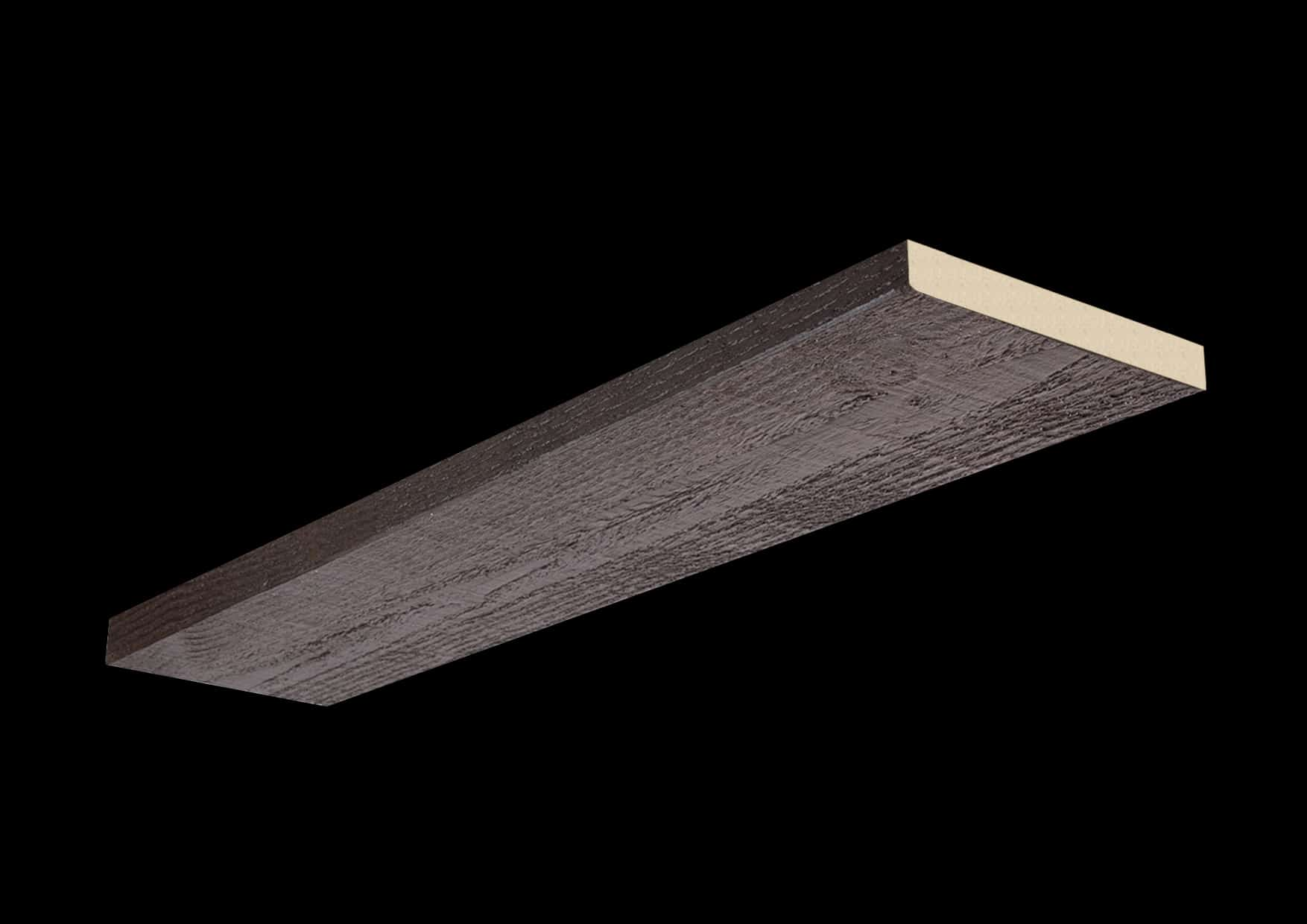 Faux Wood Ceiling Plank - Rough Sawn - Espresso (1b)
