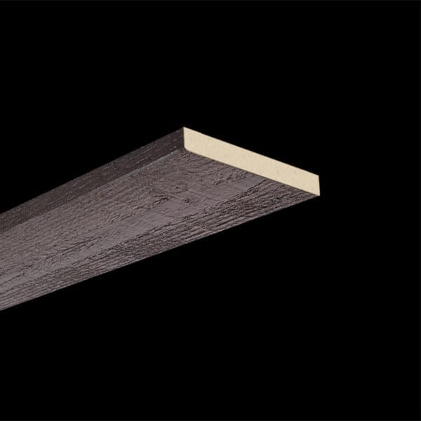 Faux Wood Ceiling Plank - Rough Sawn - Espresso (2b)