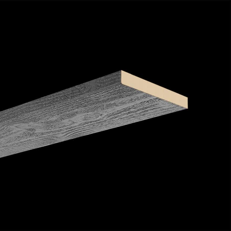 Faux Wood Ceiling & Wall Planks - Rough Sawn - Gray - Textured Edge