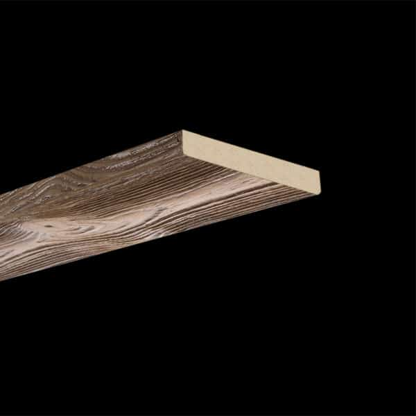 Faux Wood Ceiling Plank - Sandblasted - Light Walnut (2b)