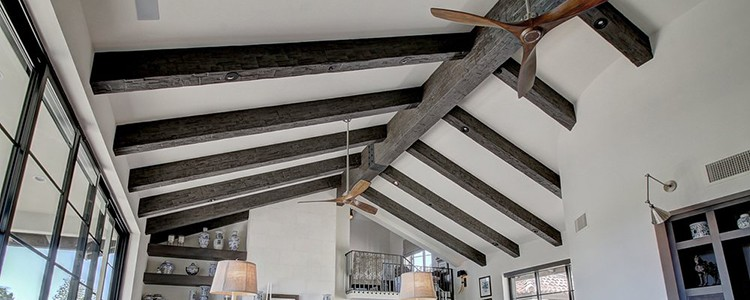 Faux Wood Ceiling Beams - Assembled