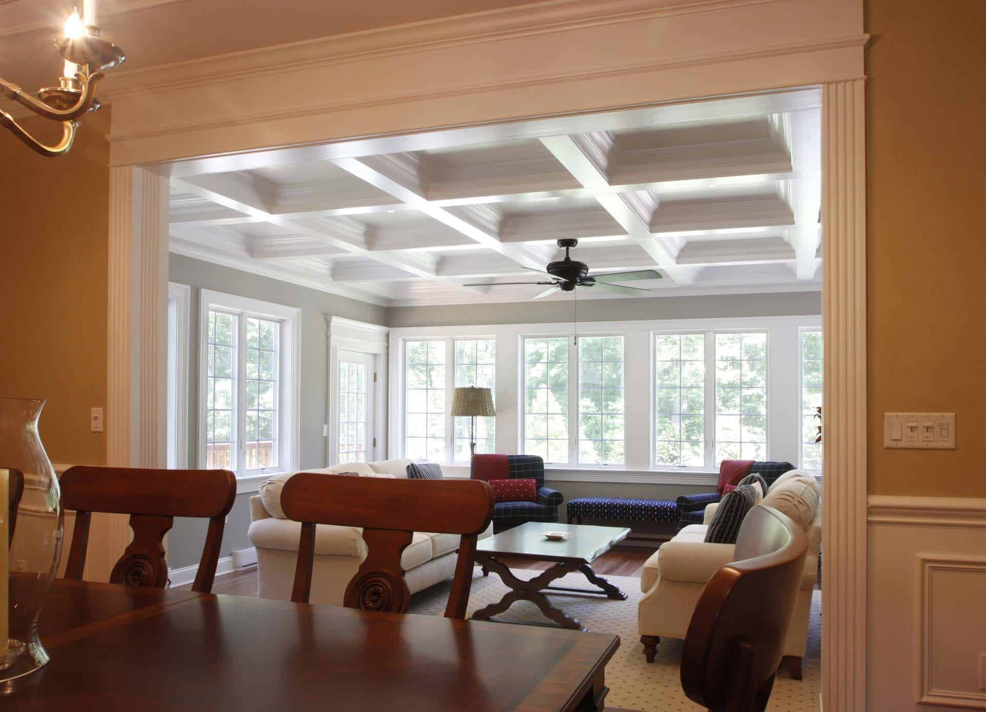 Coffered Ceiling Design : Ceiling Beams : Coffer Ceiling ...