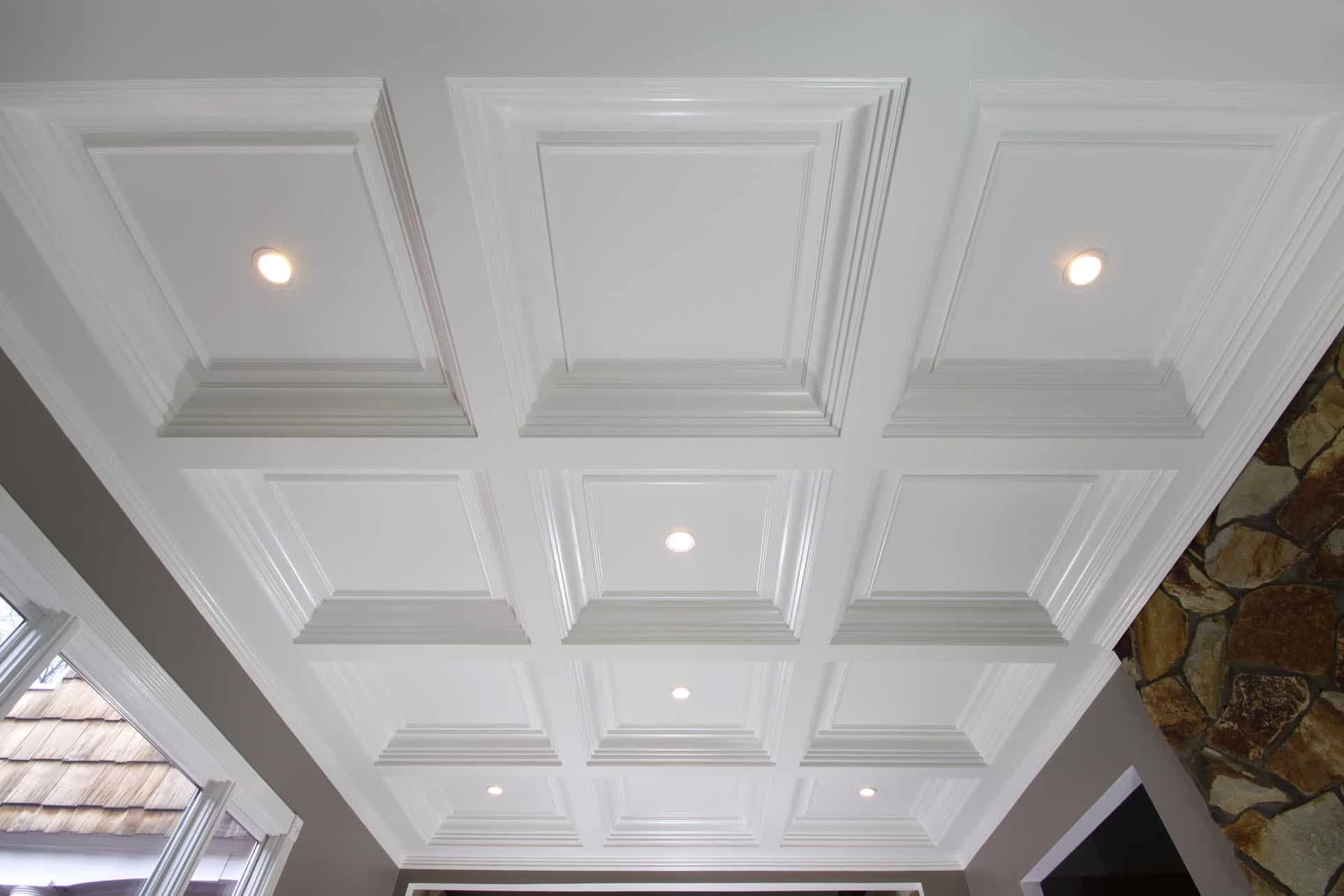 ... coffered ceiling, coffered ceilings, ceiling treatment, ceiling design,  ceiling panel, faux ...
