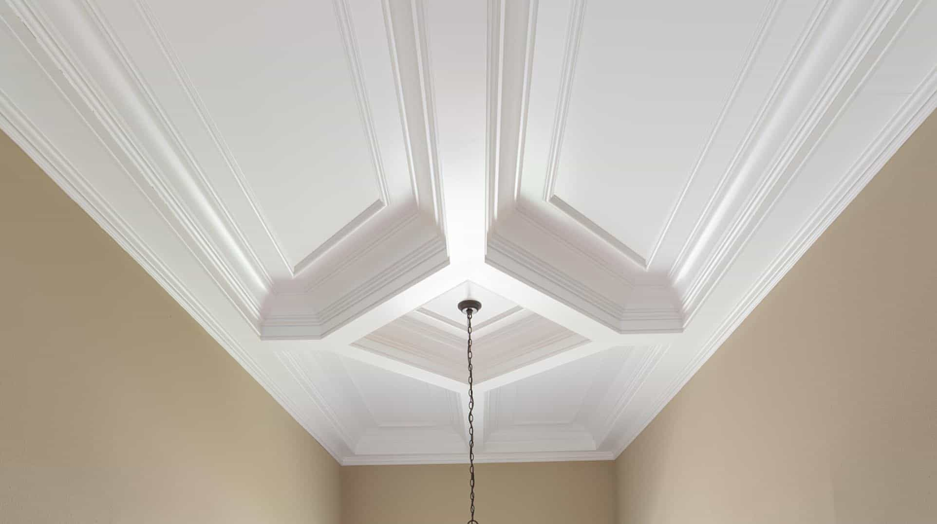 Coffered ceiling coffered ceilings ceiling treatment ceiling design ceiling panel faux