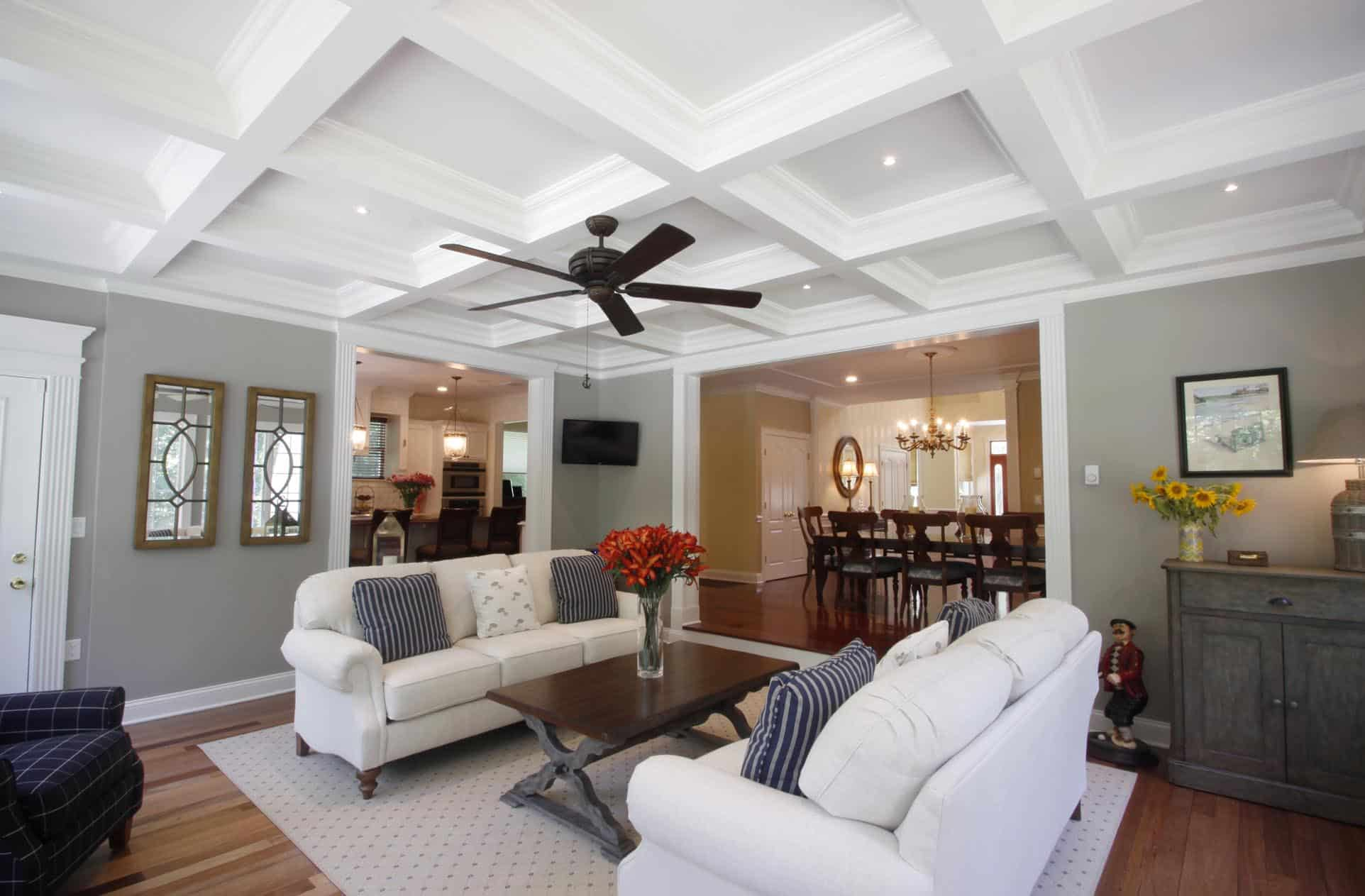 Coffered Ceiling Ceilings Treatment Design Panel Faux