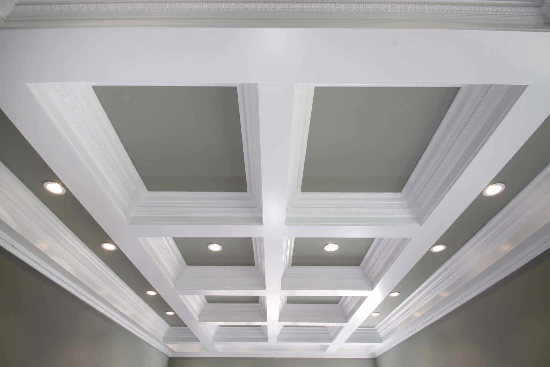 Coffered Ceiling Systems : Easy Coffered Ceiling in a Day