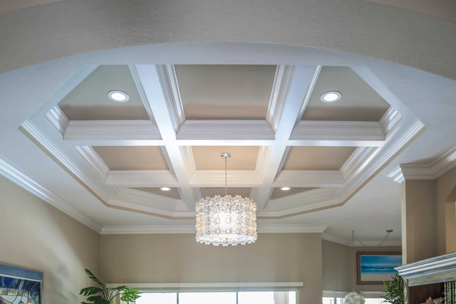 Coffered ceiling designs home design for Coffered ceiling styles
