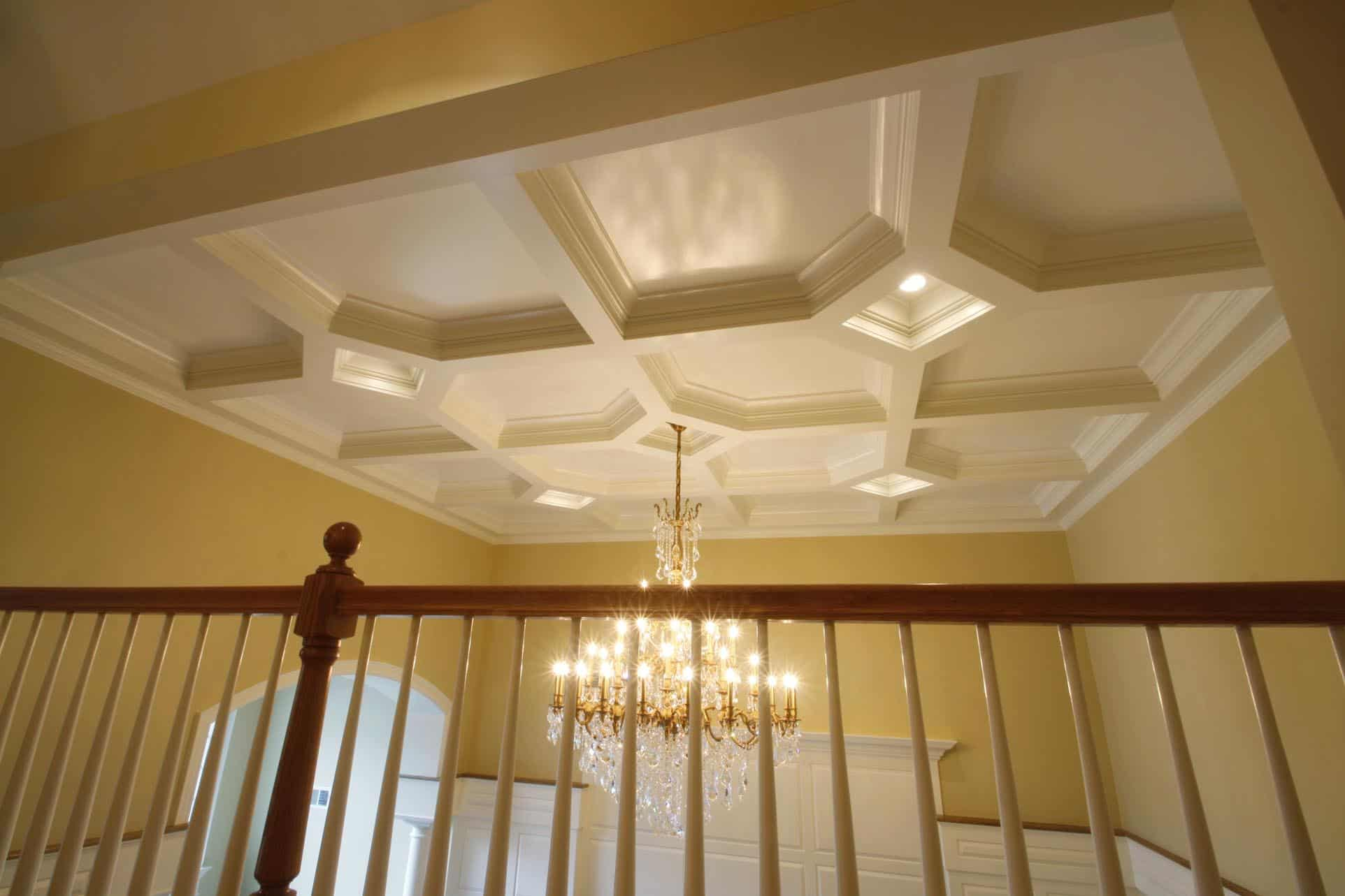 coffered ceiling, coffered ceilings, ceiling treatment, ceiling design, ceiling panel, faux wood ceiling beams