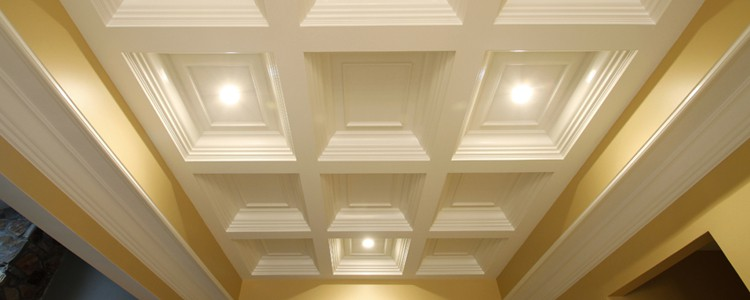 Box Beam Coffered Ceiling System